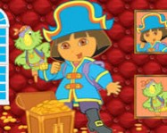 Sort my tiles Dora the pirate online